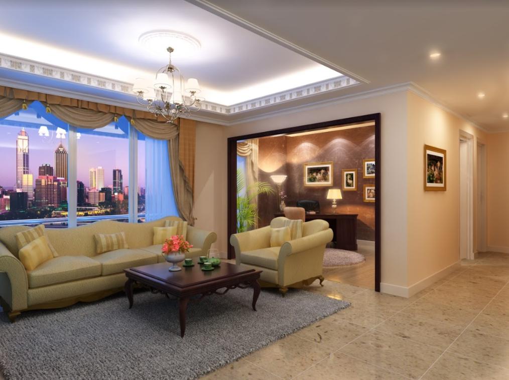 phòng khách bid residence