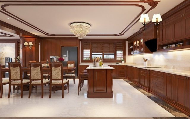 chọn tọa hung hướng cát cho phòng bếp