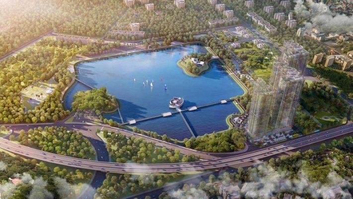 Grandeur Palace Phạm Hùng View công viên hồ điều hòa 32ha